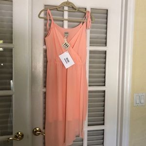 Haute Hippie sheer dress with lining